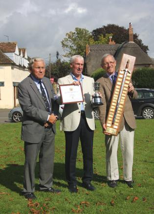 From left to right: Richard Pushman, Ken Birkby, Sir Henry Aubrey Fletcher
